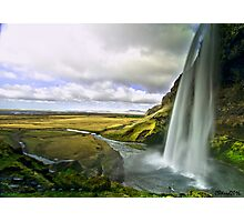 Seljalandsfoss in Iceland 2 Photographic Print