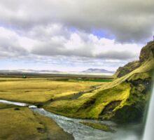 Seljalandsfoss in Iceland 2 Sticker