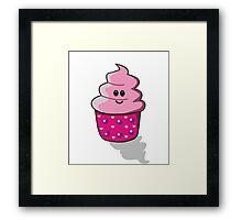 Kawaii Cupcake Framed Print