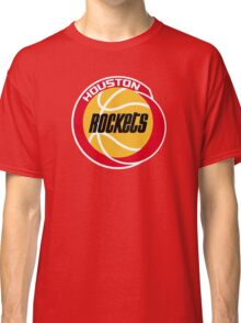 HOUSTON ROCKETS BASKETBALL RETRO Classic T-Shirt