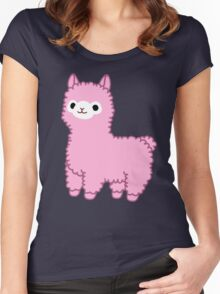 Pink Alpaca Women's Fitted Scoop T-Shirt