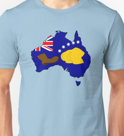 SIMPSONS VS AUSTRALIA Unisex T-Shirt