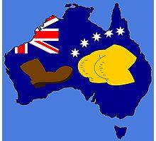 SIMPSONS VS AUSTRALIA Photographic Print