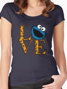 Love Cookies Women's Fitted Scoop T-Shirt