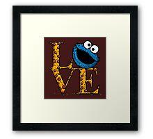 Love Cookies Framed Print