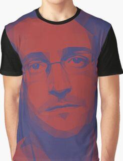 Edward Snowden Graphic T-Shirt