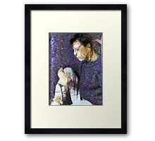Curt From Tears for Fears Framed Print