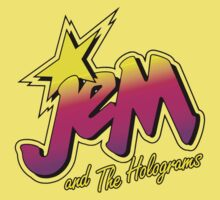 JEM AND THE HOLOGRAMS Baby Tee