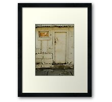 Mystery Door Framed Print