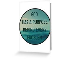 Christian Quote Greeting Card