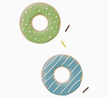 Donuts pattern 003 One Piece - Short Sleeve