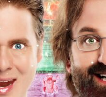 tim and eric show theory zone Sticker