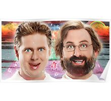 tim and eric show theory zone Poster