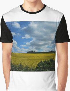 a bit of sun splash over the land Graphic T-Shirt