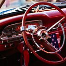 Old Ford Falcon 62 steering wheel and dashboard by htrdesigns