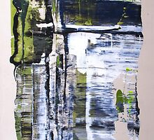 Life is not all beer and skittles, Original mixed media Abstract painting by Dmitri Matkovsky