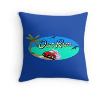 OUT RUN SEGA ARCADE 80s Throw Pillow