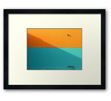 How would I know Framed Print