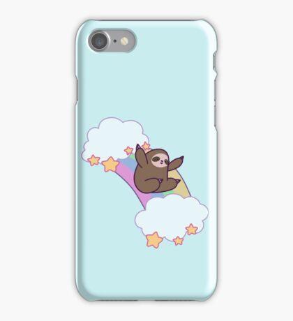 Rainbow Cloud Sloth iPhone Case/Skin