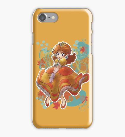 Princess Daisy T-shirt iPhone Case/Skin