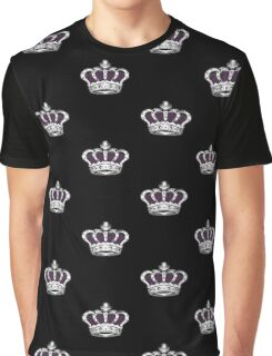 Crown - Purple 2 Graphic T-Shirt