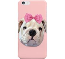 Cute Bulldog iPhone Case/Skin