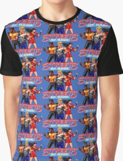STREETS OF RAGE - AXEL-BLAZE-ADAM  Graphic T-Shirt