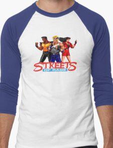 STREETS OF RAGE - AXEL-BLAZE-ADAM  Men's Baseball ¾ T-Shirt