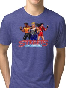 STREETS OF RAGE - AXEL-BLAZE-ADAM  Tri-blend T-Shirt