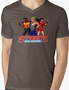 STREETS OF RAGE -AXEL-BLAZE-ADAM Mens V-Neck T-Shirt