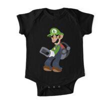 Little Luigi Poltergust 3000 One Piece - Short Sleeve