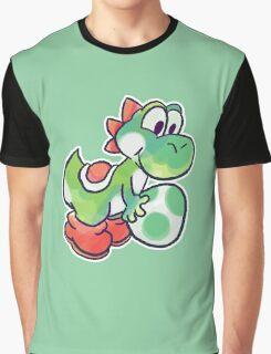 Yoshi holding an Egg Graphic T-Shirt