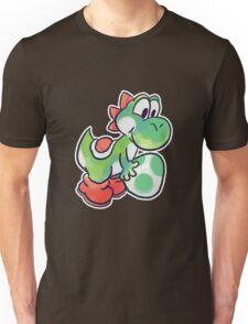 Yoshi holding an Egg Unisex T-Shirt
