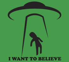 I Want To Believe Kids Tee