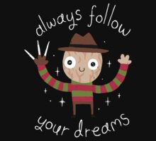 Always Follow Your Dreams One Piece - Short Sleeve