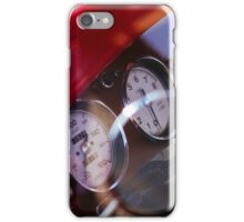 Vintage customized car dashboard iPhone Case/Skin