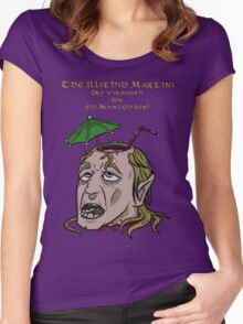 The Illithid Martini Women's Fitted Scoop T-Shirt