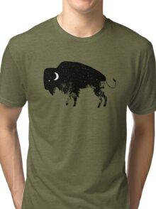Bison Moon Tri-blend T-Shirt