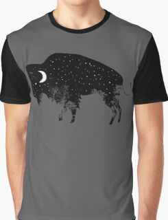 Bison Moon Graphic T-Shirt