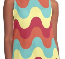 melting colors Contrast Tank