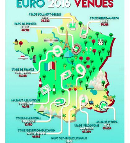 Euro 2016 venues Sticker