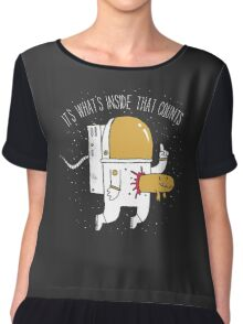 Space Sucks Chiffon Top