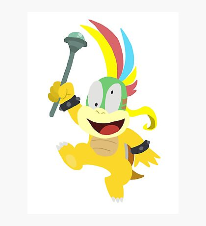 Lemmy Koopa Photographic Print