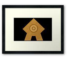 United Republic emblem Framed Print