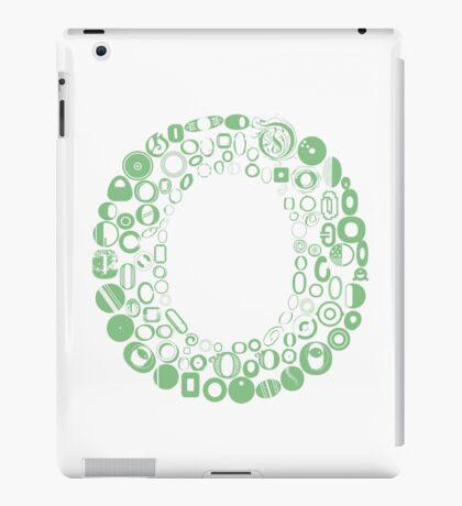 Font Fashion O iPad Case/Skin