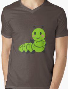 Caterpillar/Bug Waving Emoji T-Shirt
