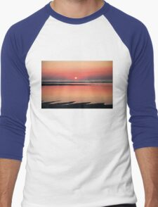 Sunset Men's Baseball ¾ T-Shirt