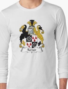 Turner Coat of Arms / Turner Family Crest Long Sleeve T-Shirt