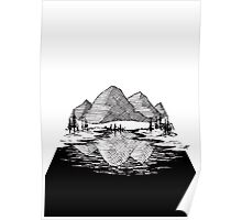 Enjoy the Mountains Poster