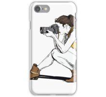women photographer iPhone Case/Skin